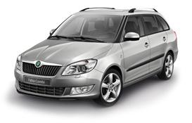 Škoda Fabia II Facelift Combi